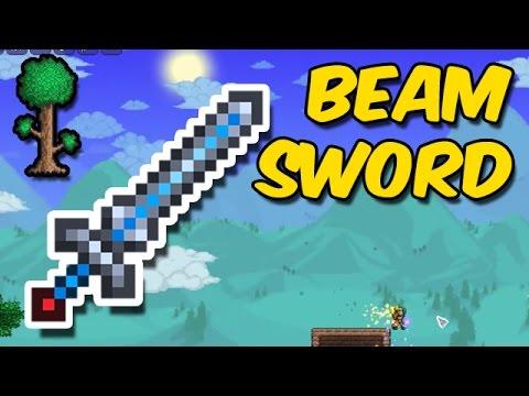 Terraria: BEAM SWORD FOUND & Getting REKT by Hardmode