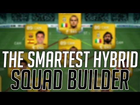 THE BEST SMART BBVA / SERIE A HYBRID SQUAD (150k) | FIFA 14 Ultimate Team Squad Builder (FUT 14)