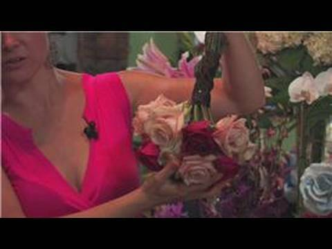 Wedding Floral Arrangements : How to Dry Your Wedding Bouquet