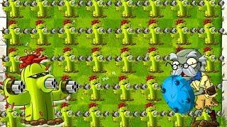 Monster Power Up CACTUS Plants vs Zombies 2 Challenge