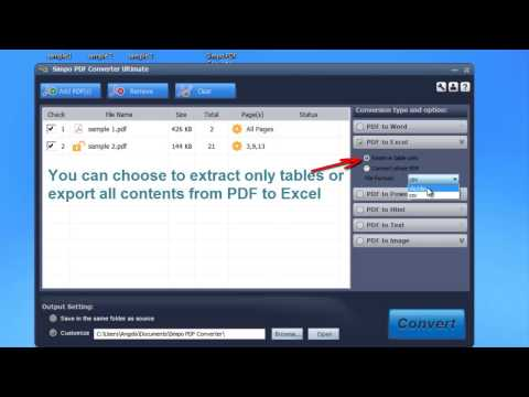How to Convert PDF Data to Excel Tables