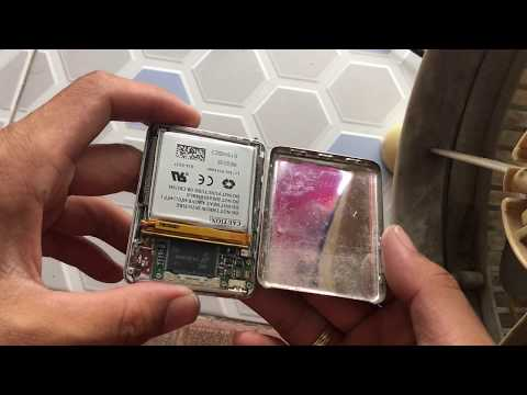 iPod Nano gen 3rd : disassembly and reassembly back cover without damaged