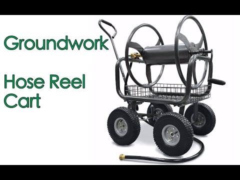 2016 Groundwork Hose Reel Unboxing and Assembly