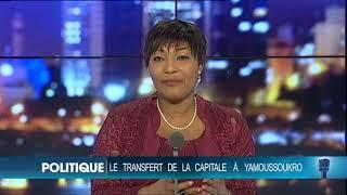Le 20 heures de RTI1 du 7 février 2018 par Marie-Laure N'Goran