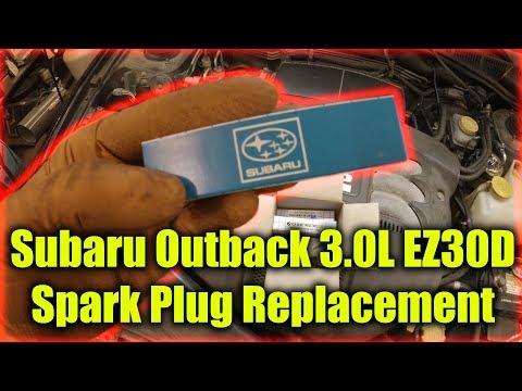 Subaru EZ30D EZ36D Spark Plug Replacement
