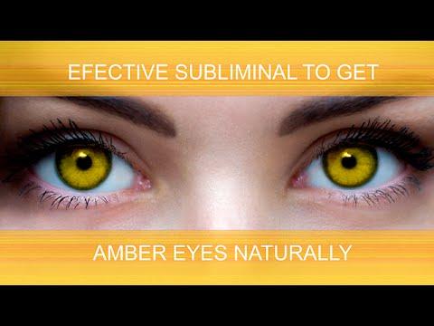 AMBER EYES NATURALLY | SuperSubliminaL