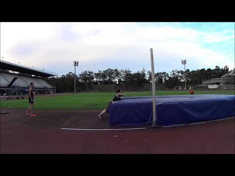High jump mat throws