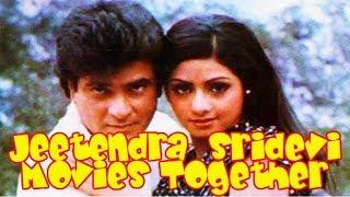 Jeetendra Sridevi Movies together : Bollywood Films List 🎥 🎬
