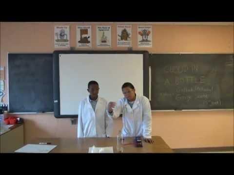 Minnesota School of Science - Demonstrations-Making Cloud in a Bottle -