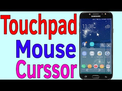 Touchpad : How To Turn On or Enable Mouse Curssor On Your Samsung J7/S7/S8/S9/N8/N9 Android phone