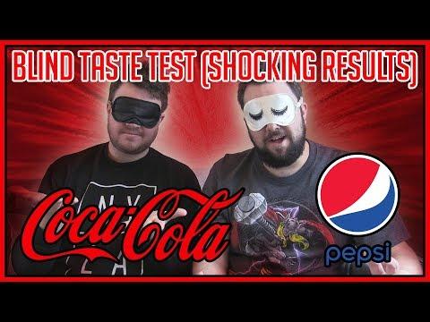 Coca-Cola VS Pepsi BLIND Taste Test | SHOCKING RESULTS