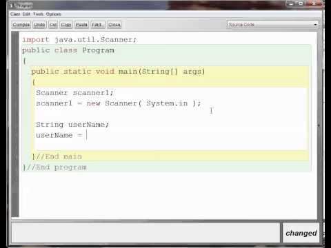 Java Scanner class BlueJ American Accent