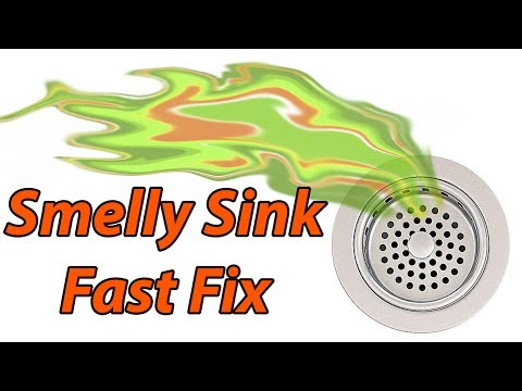 Smell Coming From Sink: Cleaning it or Preventing it With a Trap Primer