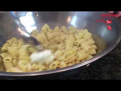 Rigatoni with Mushrooms, Marsala and Mascarpone