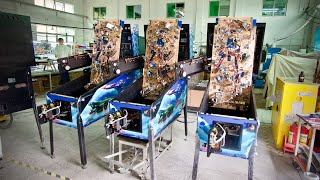 Inside China's Only Pinball Machine Factory