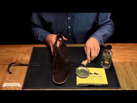 How to clean your suede shoes - with Saphir Médaille d'Or