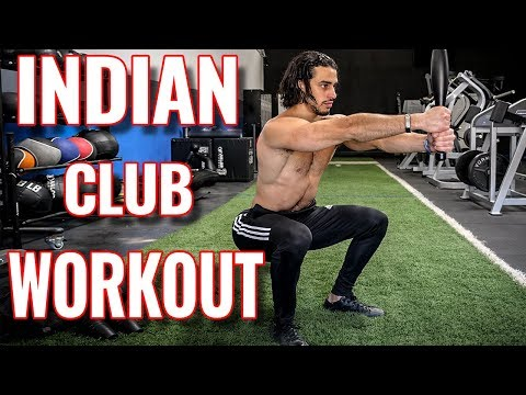 #1 Indian Club Exercise Workout Routine [FULL BODY]