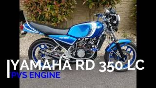 Yamaha RD 350 lc YPVS to Athena 392 part one - The Most