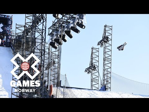 Women's Snowboard Big Air: FULL BROADCAST   X Games Norway 2018