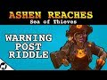 Download  Warning Post Riddle Location | Ashen Reaches, Devil's Roar | Sea of Thieves Forsaken Shores MP3,3GP,MP4