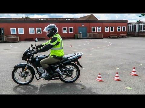 CBT MOTORBIKE TEST!