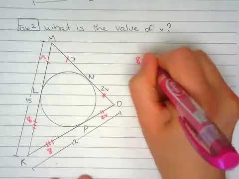 Perimeter of polygons with an inscribed circle-U8
