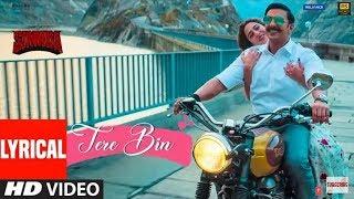 Tere Bin Lyrics With English Translation - Simmba | Rahat Fateh Ali Kham