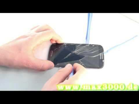 Samsung Galaxy S3 i9300 Touchscreen Displayglas Austausch Reparatur wechseln Touch Repair