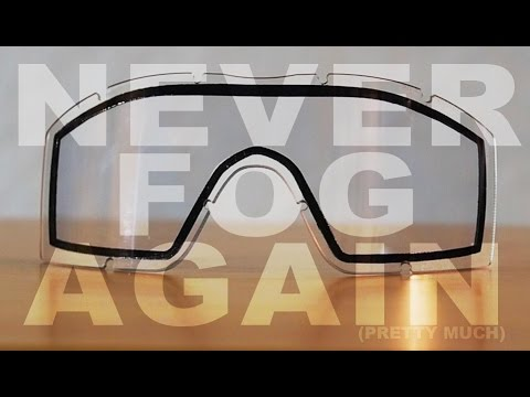 The 100% Best Anti-Fog Method for Airsoft (NO SPRAY OR ANYTHING)