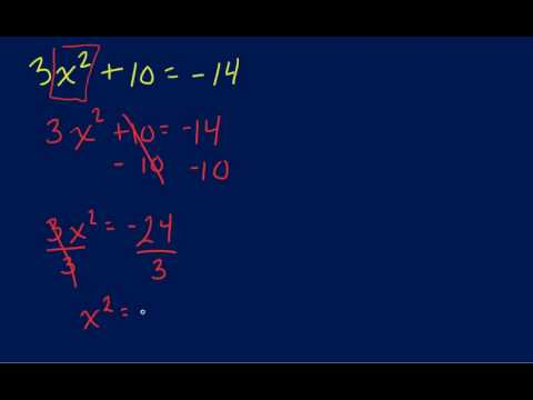Solving Quadractic Equations with Imaginary Number.mp4
