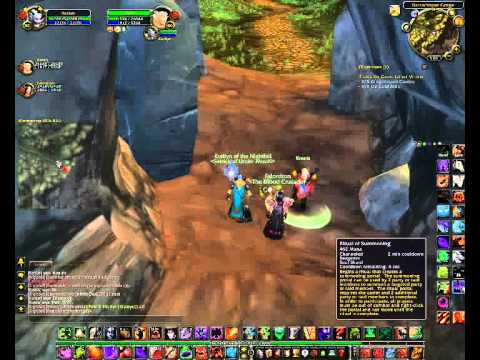 How to get in Mount Hyjal in WoW 3.3.5a