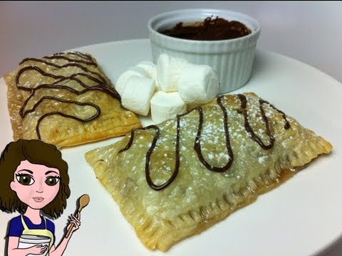 HOW TO MAKE S'MORES POP TARTS