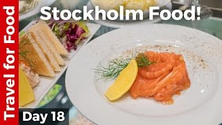 Download Swedish Food in Stockholm: Melt-In-Your-Mouth Dill Cured Salmon! Video