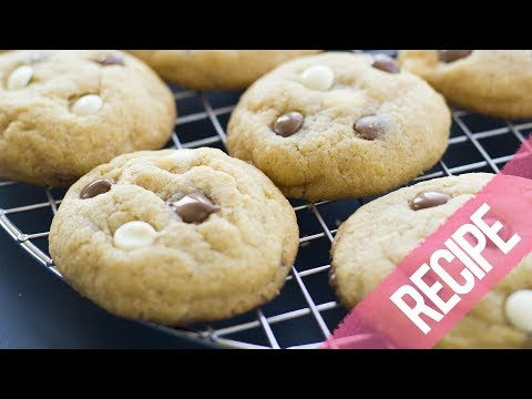 SOFT THICK TRIPLE CHOCOLATE CHIP COOKIES | RECIPE