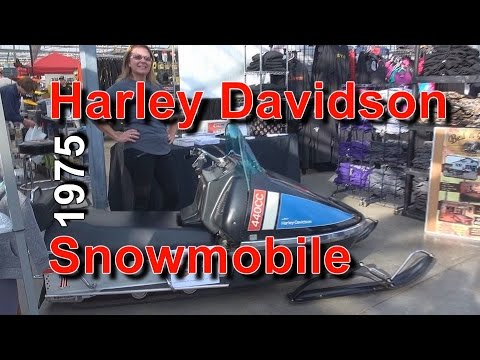 1975 Harley Davidson Snowmobile