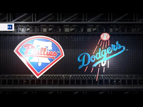 MLB The Show 18 (PS4) - Phillies vs Dodgers Game 3 (Full Broadcast Presentation)