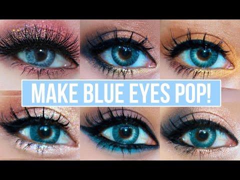 5 Makeup Looks That Make Blue Eyes Pop! | Blue Eyes Makeup Tutorial