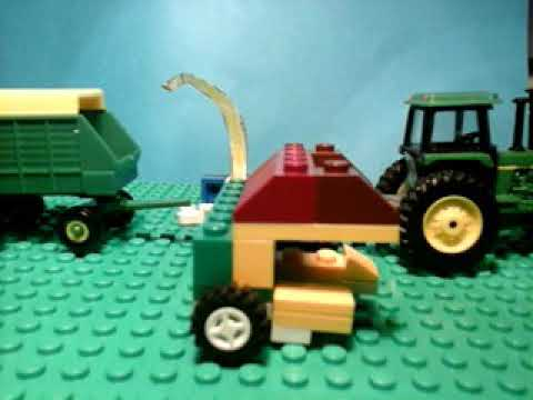 How to build a lego pull type chopper
