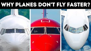 Why Passenger Planes Can't Fly Faster