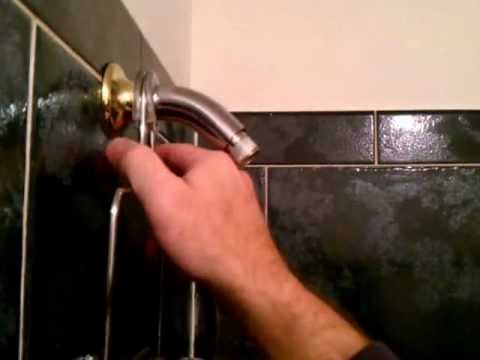 DIY - How to keep hanging shower caddy from falling.