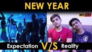 NEW YEAR || Expectation V/S Reality || Funchod Entertainment || Funcho | FC