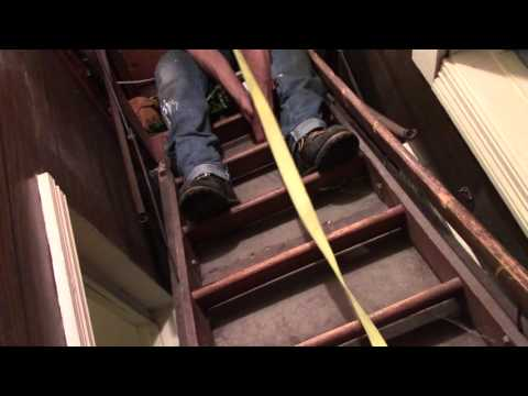 Replace Old Attic Ladder