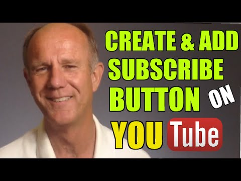 How to Create And Add A Subscribe Button Across All Videos On Your YouTube Channel