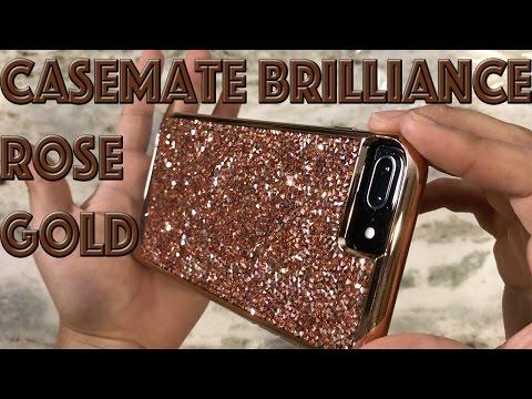 iPhone 7 Plus Case Mate Brilliance Tough Rose Gold Case Review