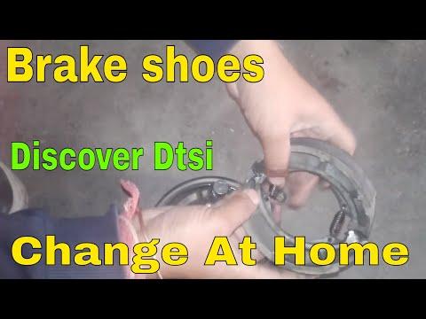 how to change bike brake shoes