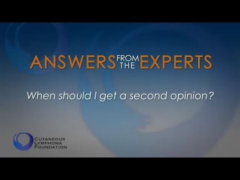 Answers From the Experts: Getting a Second Opinion