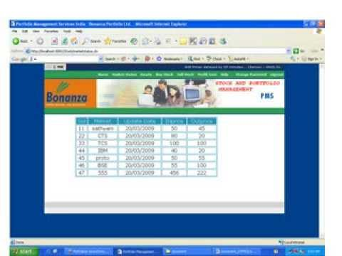 Stock and Portfolio Management System Project in Java