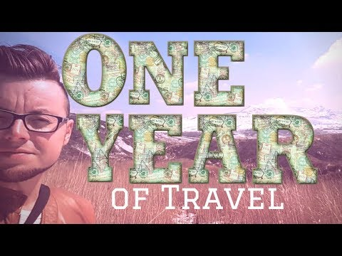 ONE YEAR OF TRAVEL plus NEXT DESTINATION REVEAL! | FIRST WORLD TRAVELLER