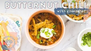 Butternut Squash CHILI with Green Chef 🍽 #RECIPES4BUZYBEEZ