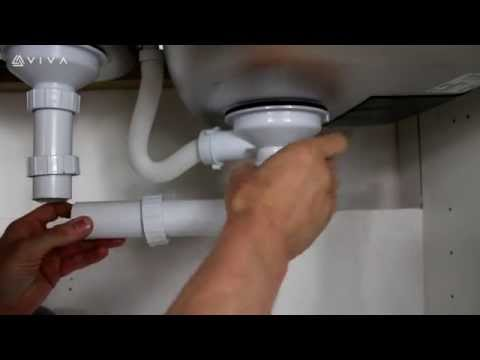 How to Install or Replace a Bowl & Half Trap Kit For your Twin Bowl Double Kitchen Sink